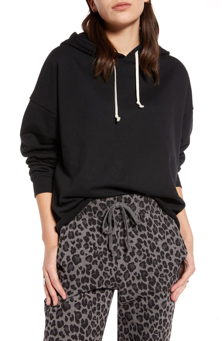 TREASURE & BOND Pullover Hoodie, Main, color, 001