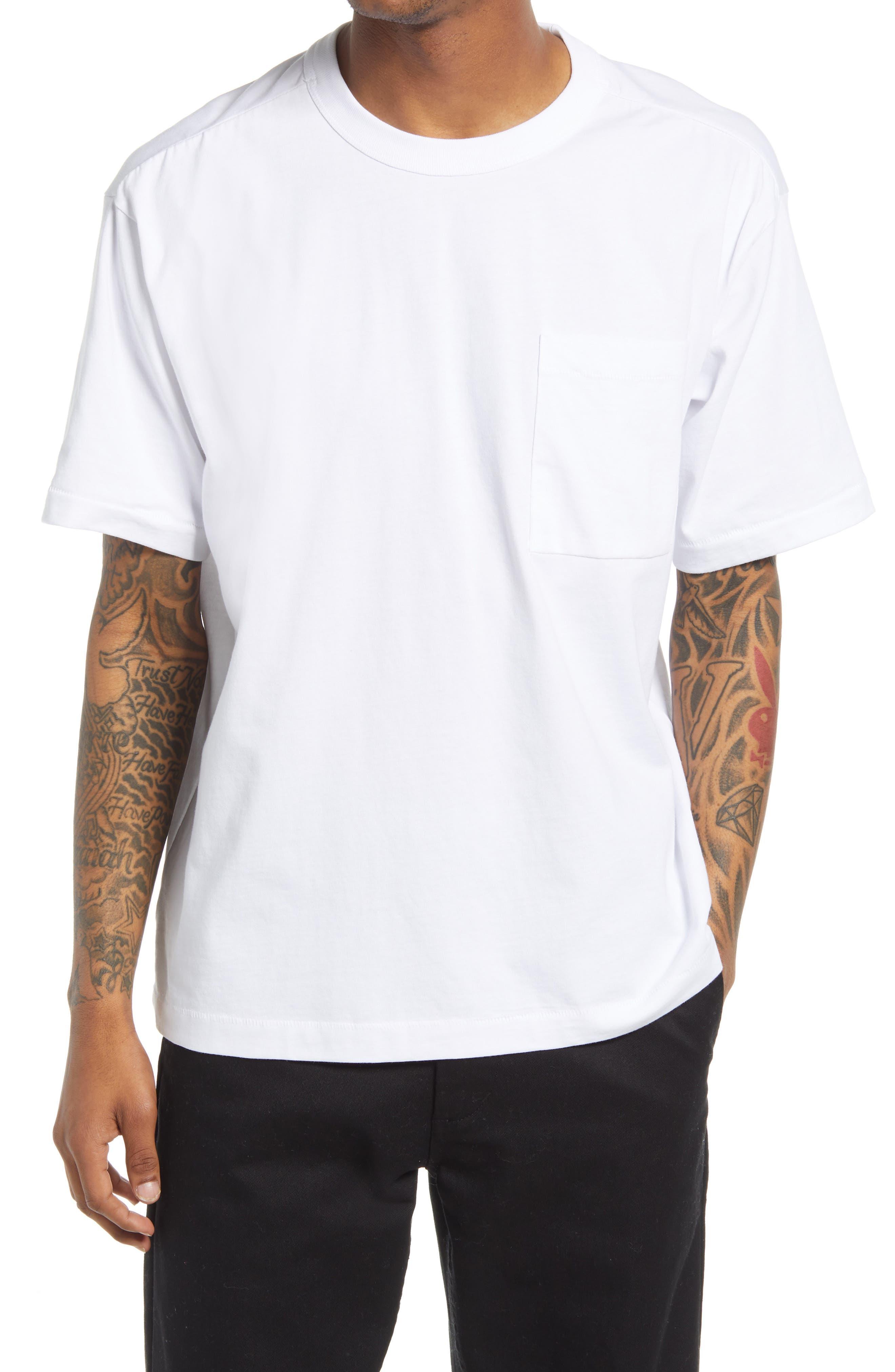 Unisex Cotton Pocket T-Shirt