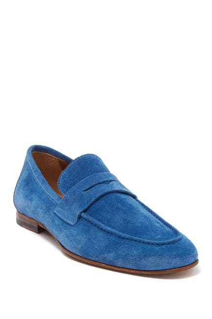 Image of Antonio Maurizi Suede Penny Loafer
