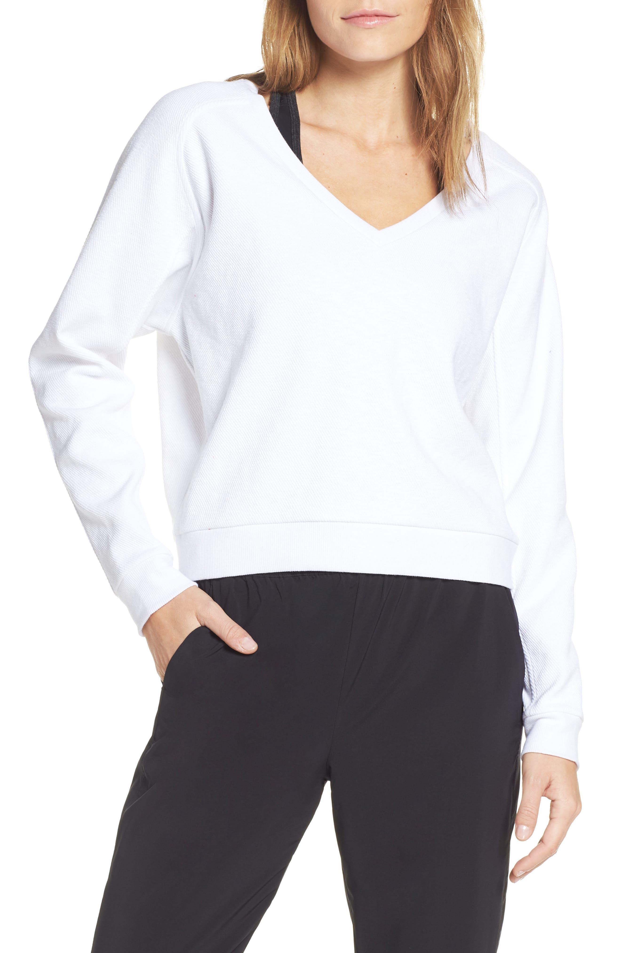 Vienna Pullover, Main, color, WHITE
