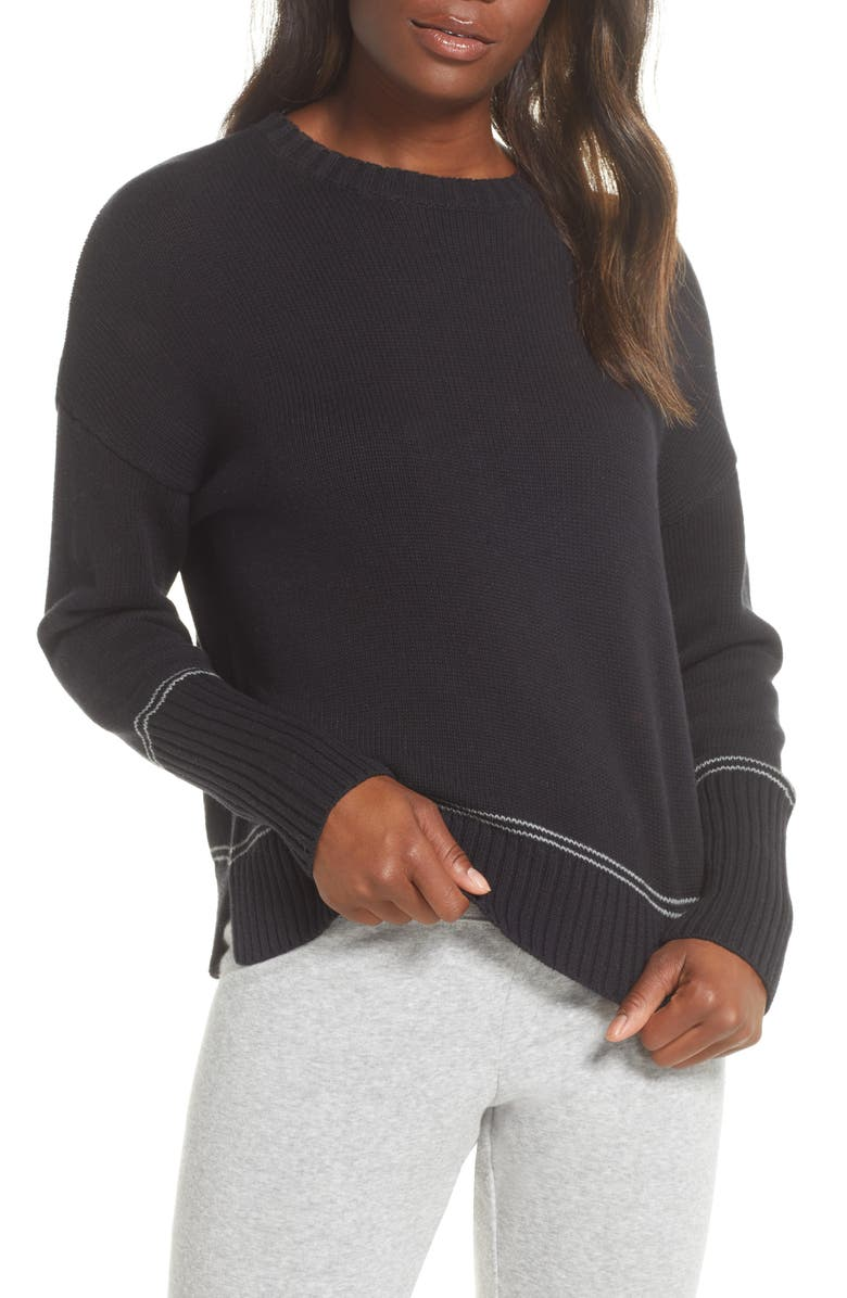 UGG<SUP>®</SUP> Phyllis Stripe Pullover, Main, color, 001