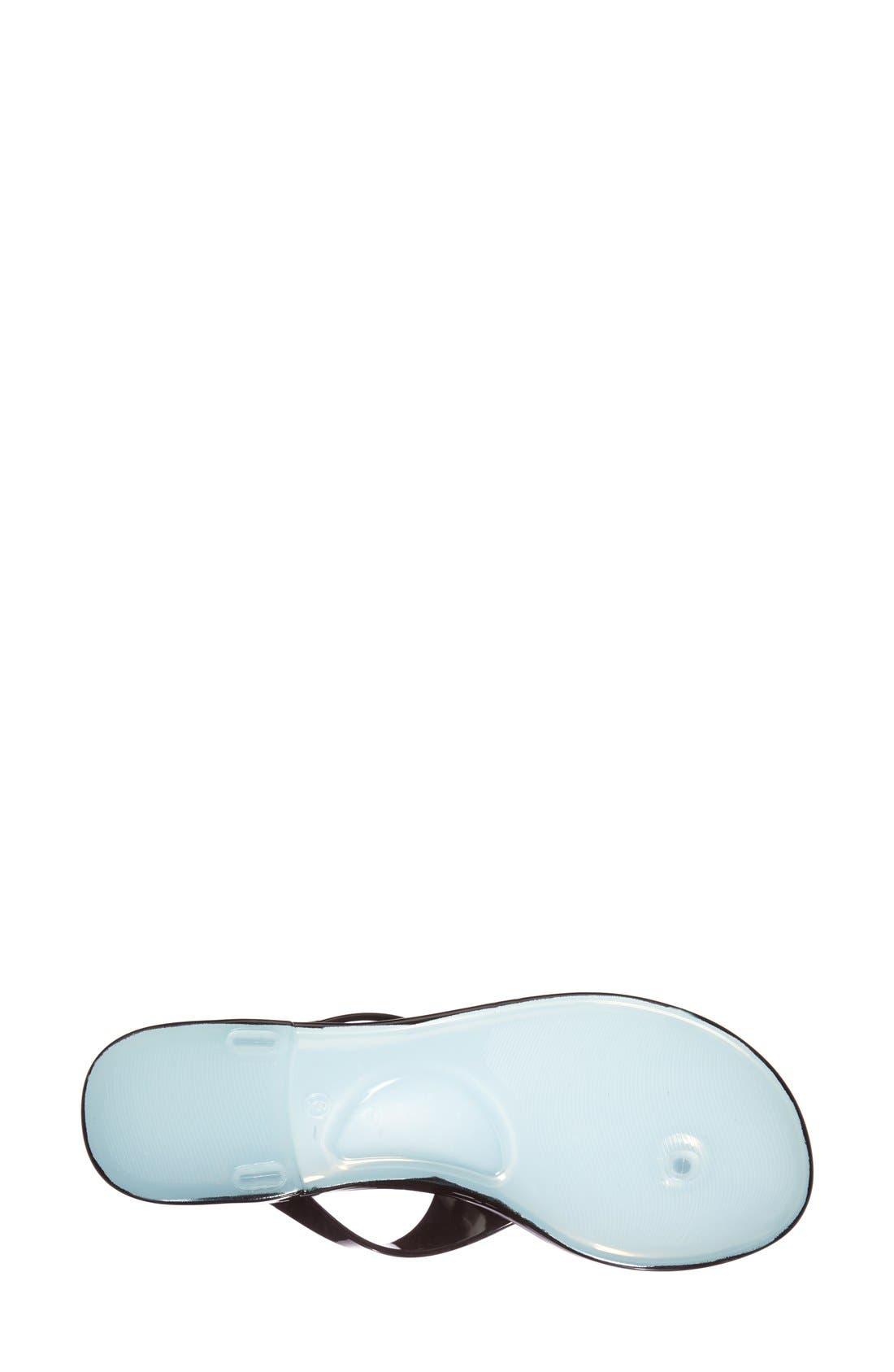 ,                             'Star' Jelly Sandal,                             Alternate thumbnail 3, color,                             003