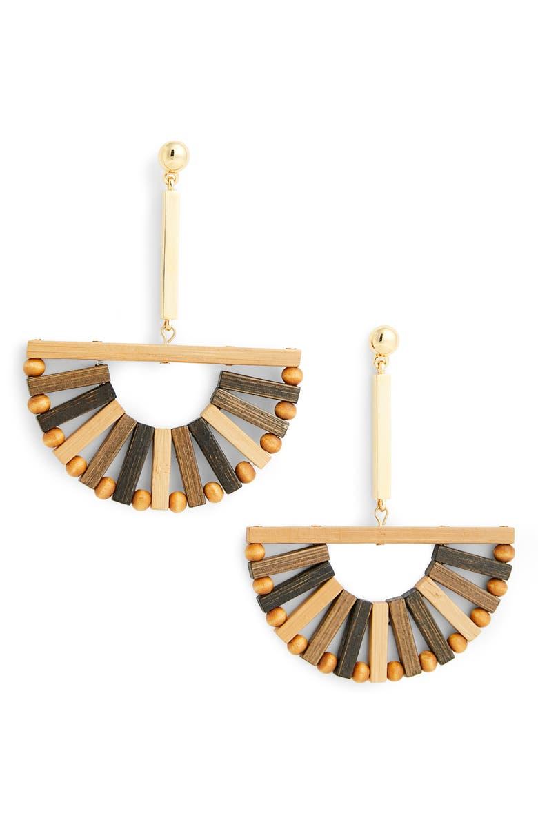 CULT GAIA Ark Earrings, Main, color, 200