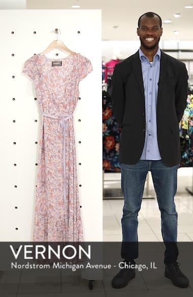 Haven Wrap Maxi Dress, sales video thumbnail