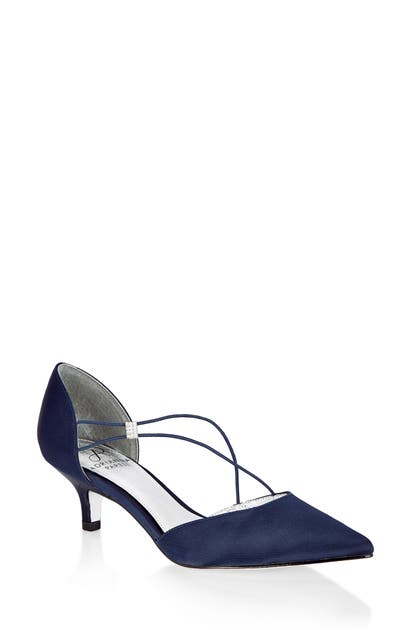 Adrianna Papell Pumps LACY ASYMMETRICAL D'ORSAY PUMP
