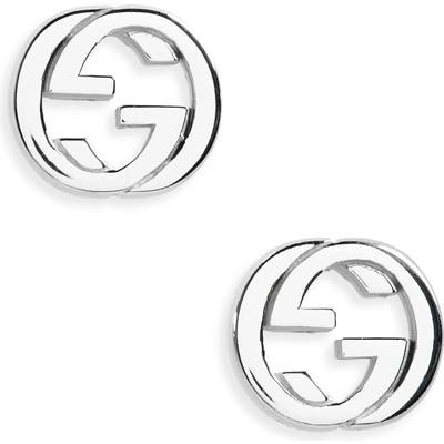 Gucci Interlocking Stud Earrings