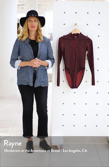 Python Print Long Sleeve Bodysuit, sales video thumbnail