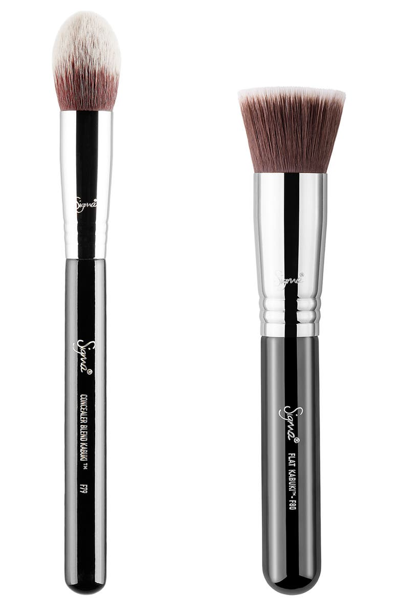 SIGMA BEAUTY Flawless in a Flash Kabuki Brush Duo, Main, color, NO COLOR