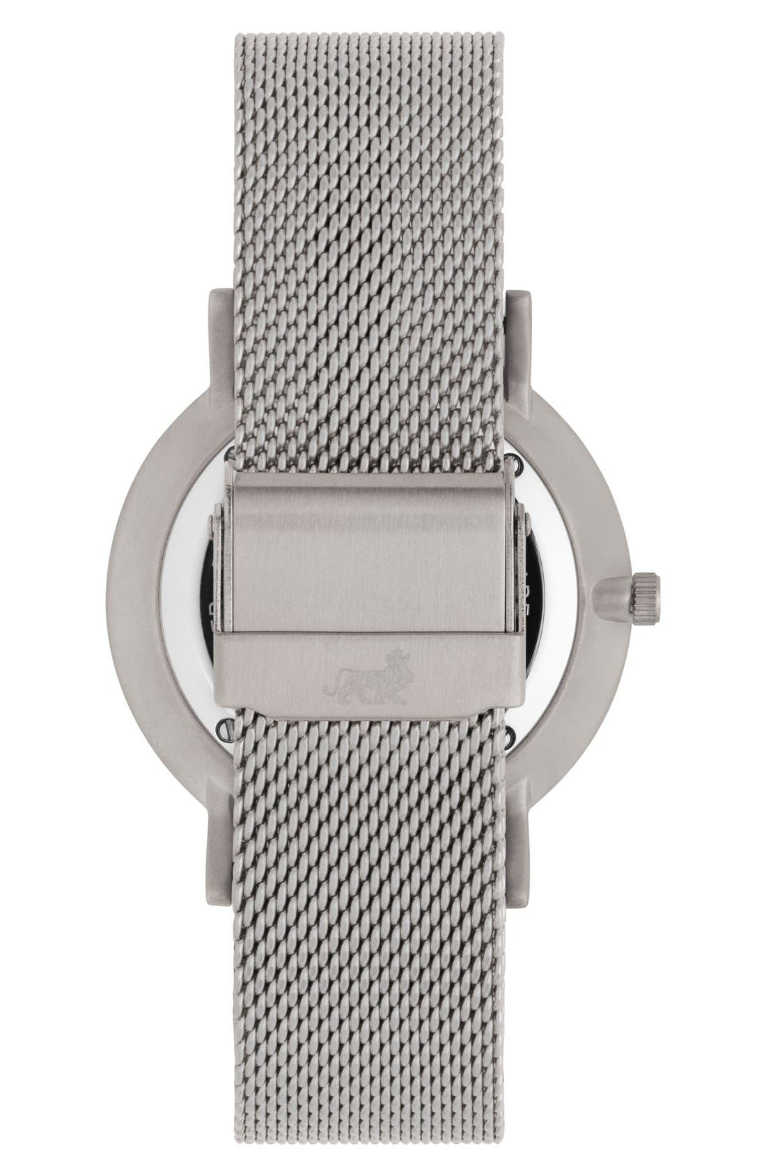 ,                             Lugano Mesh Strap Watch, 40mm,                             Alternate thumbnail 24, color,                             041