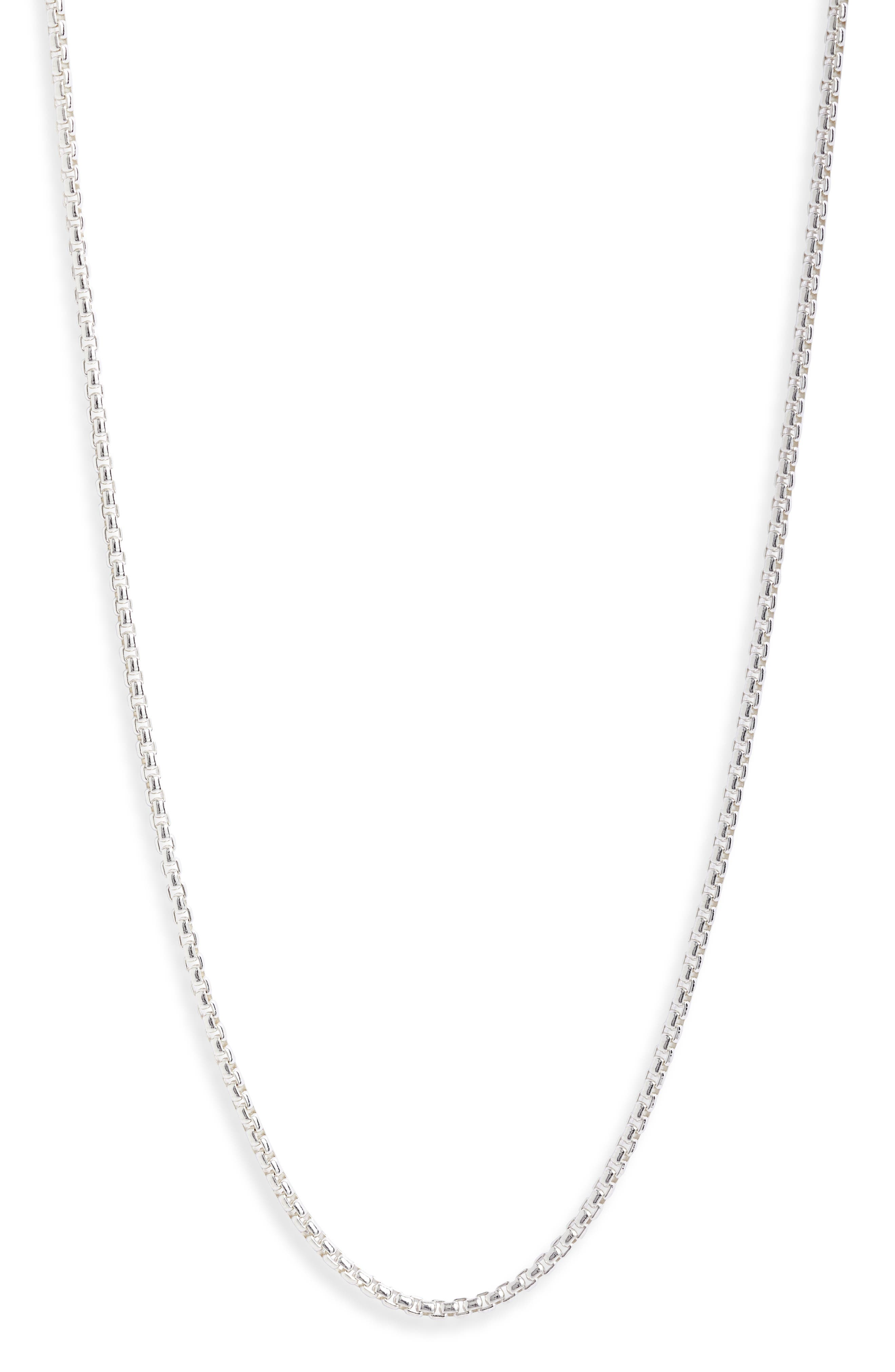 Flatiron Sterling Silver Chain Necklace