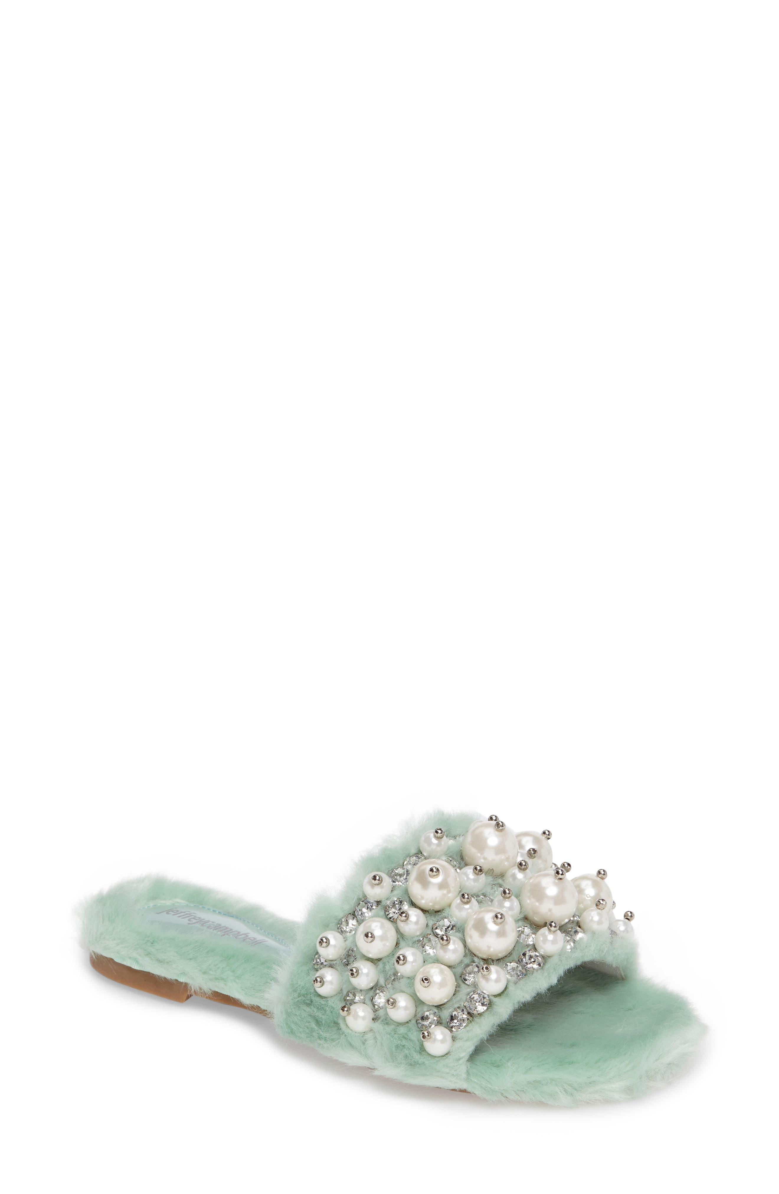 ,                             Facil Embellished Slide Sandal,                             Main thumbnail 13, color,                             337