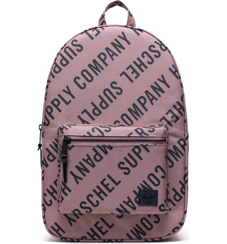 HERSCHEL SUPPLY CO Settlement Backpack, Main, color, RC ASHROSE