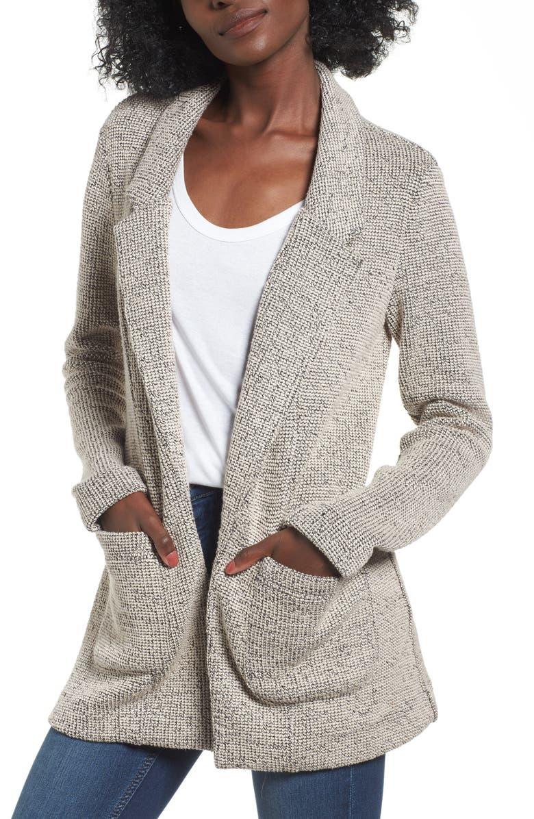ASTR THE LABEL Tweed Blazer, Main, color, 250