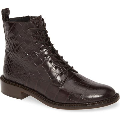 Vince Cabria Lace-Up Boot, Brown