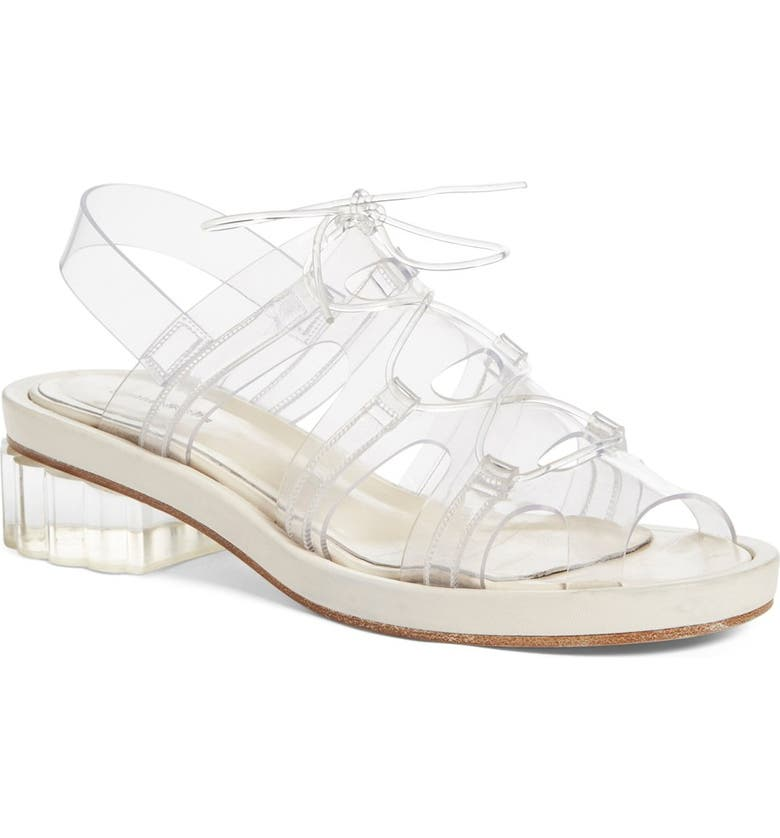 SIMONE ROCHA Jelly Sandal, Main, color, 110