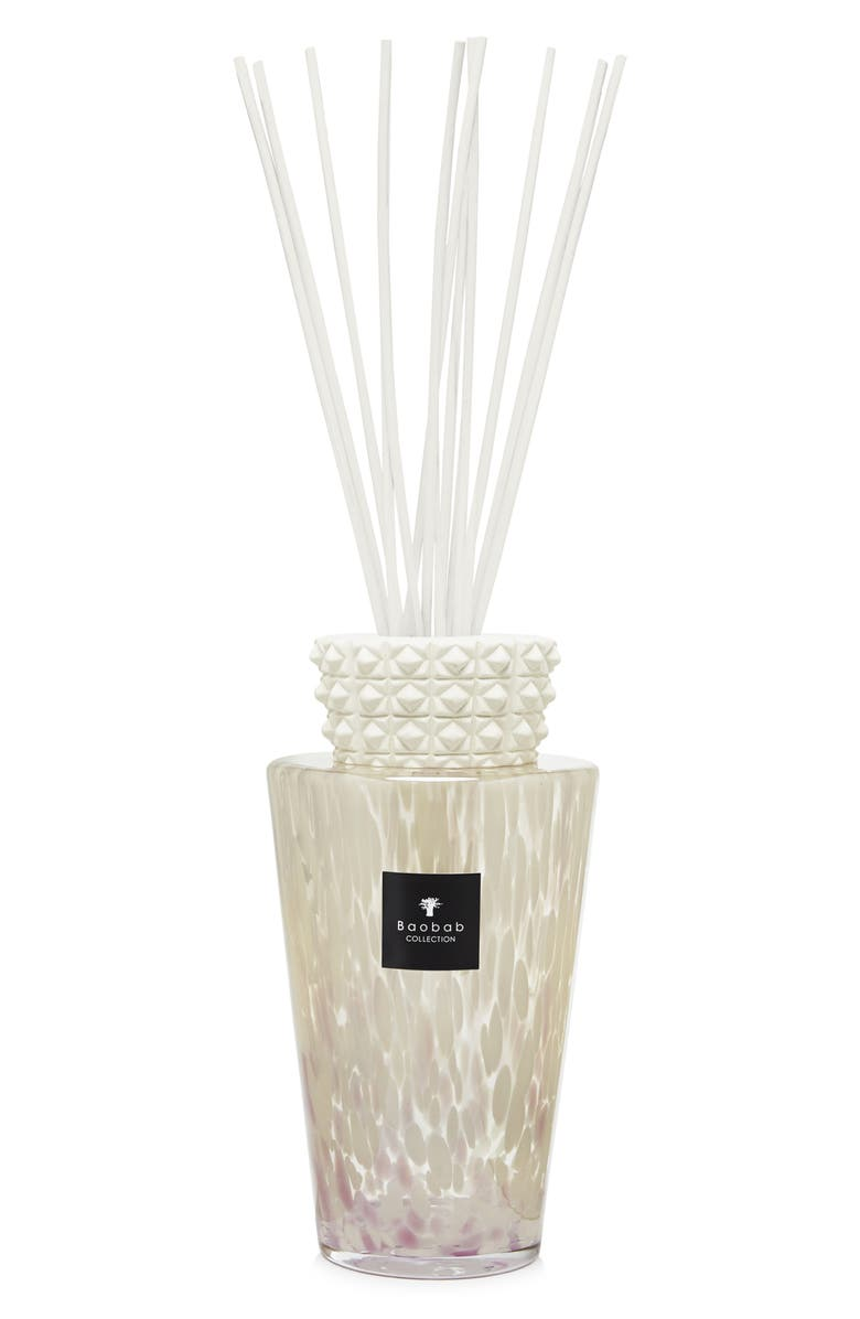 BAOBAB COLLECTION White Pearls Fragrance Diffuser, Main, color, WHITE- 5 LITER