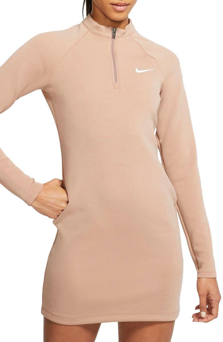 NIKE Sportswear Long Sleeve Minidress, Main, color, 200