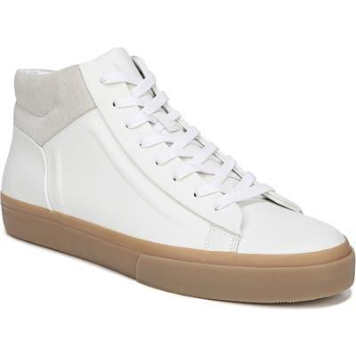 Vince Fynn High Top Sneaker, White