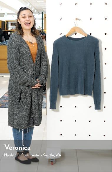 Fuzzy Crewneck Sweater, sales video thumbnail