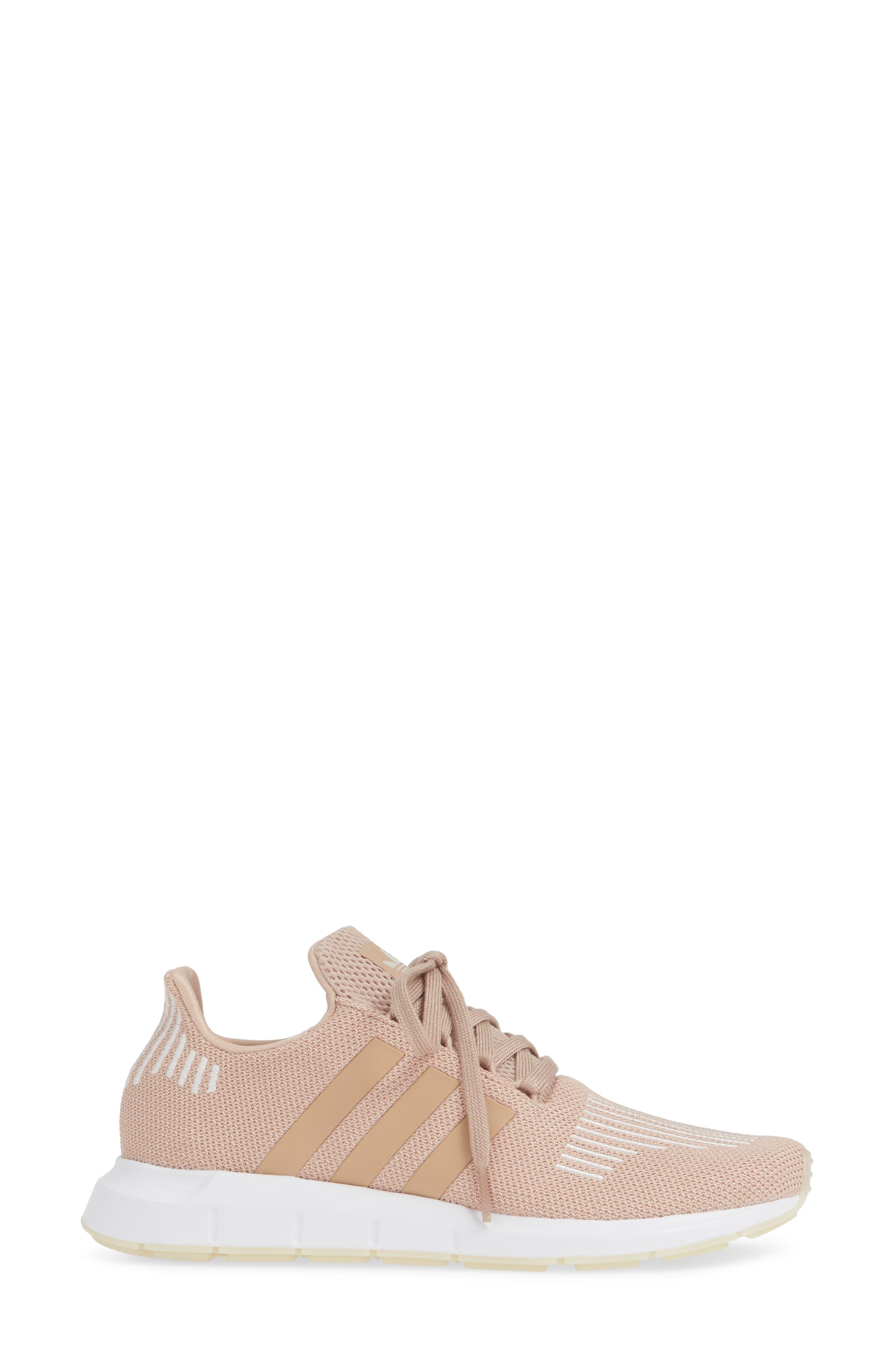 ,                             Swift Run Sneaker,                             Alternate thumbnail 3, color,                             ASH PEARL/ OFF WHITE/ WHITE