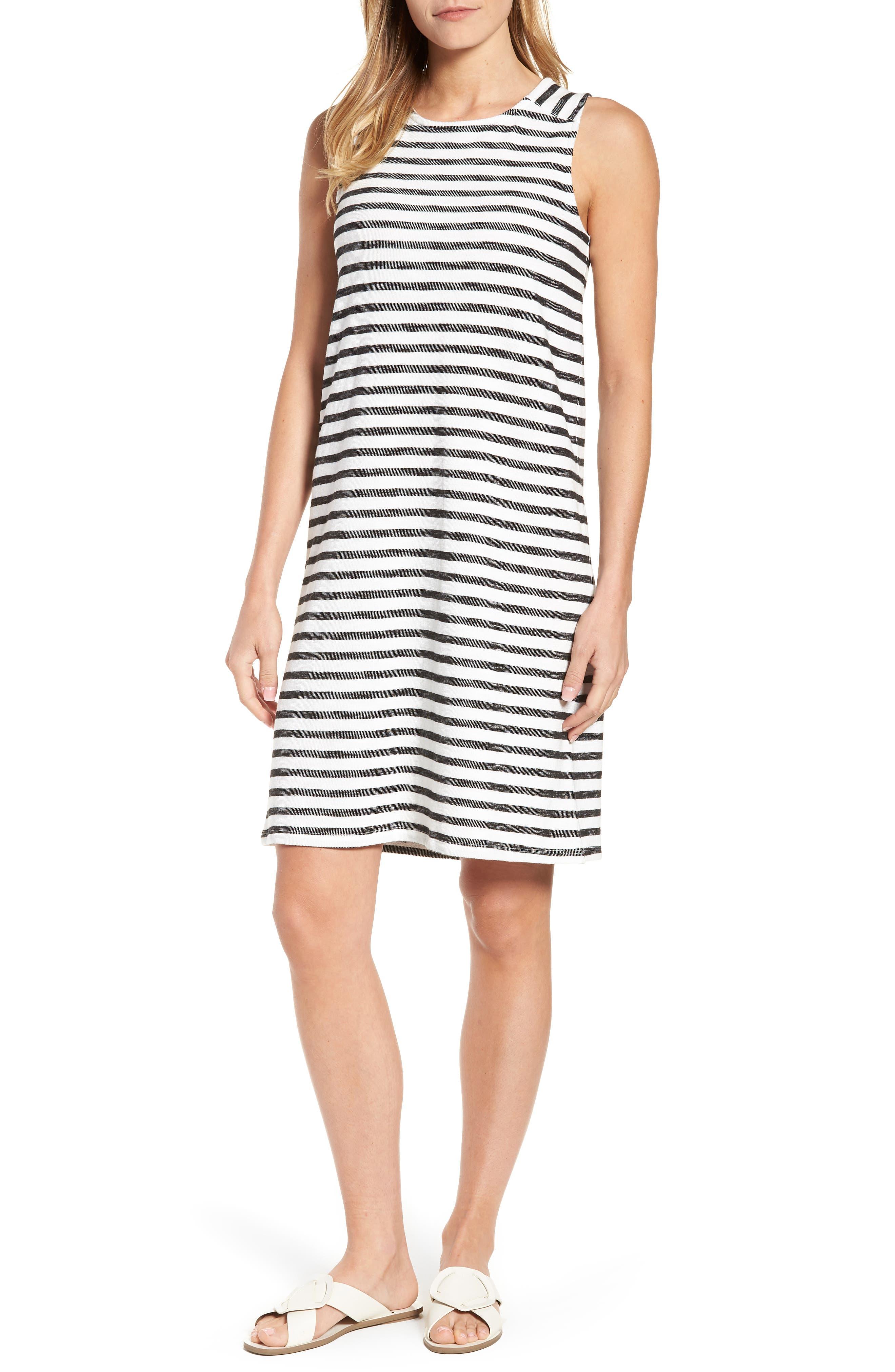 Caslon Knit Tank Dress, Ivory