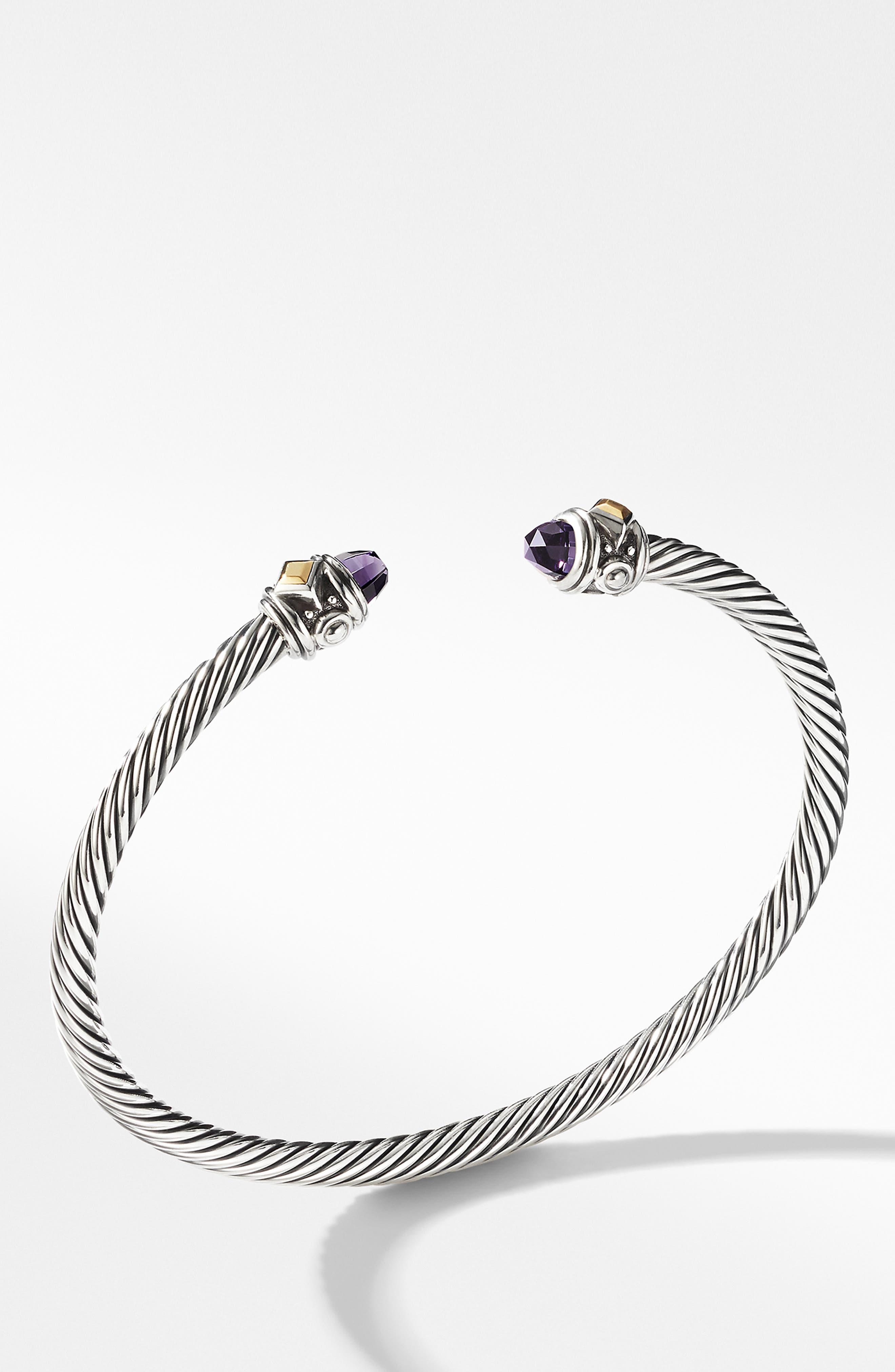 ,                             Renaissance Bracelet with 18K Gold,                             Main thumbnail 1, color,                             AMETHYST