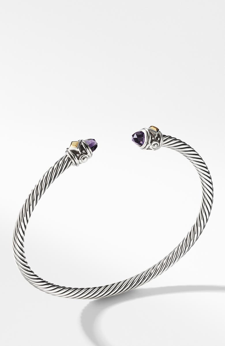 DAVID YURMAN Renaissance Bracelet with 18K Gold, Main, color, AMETHYST