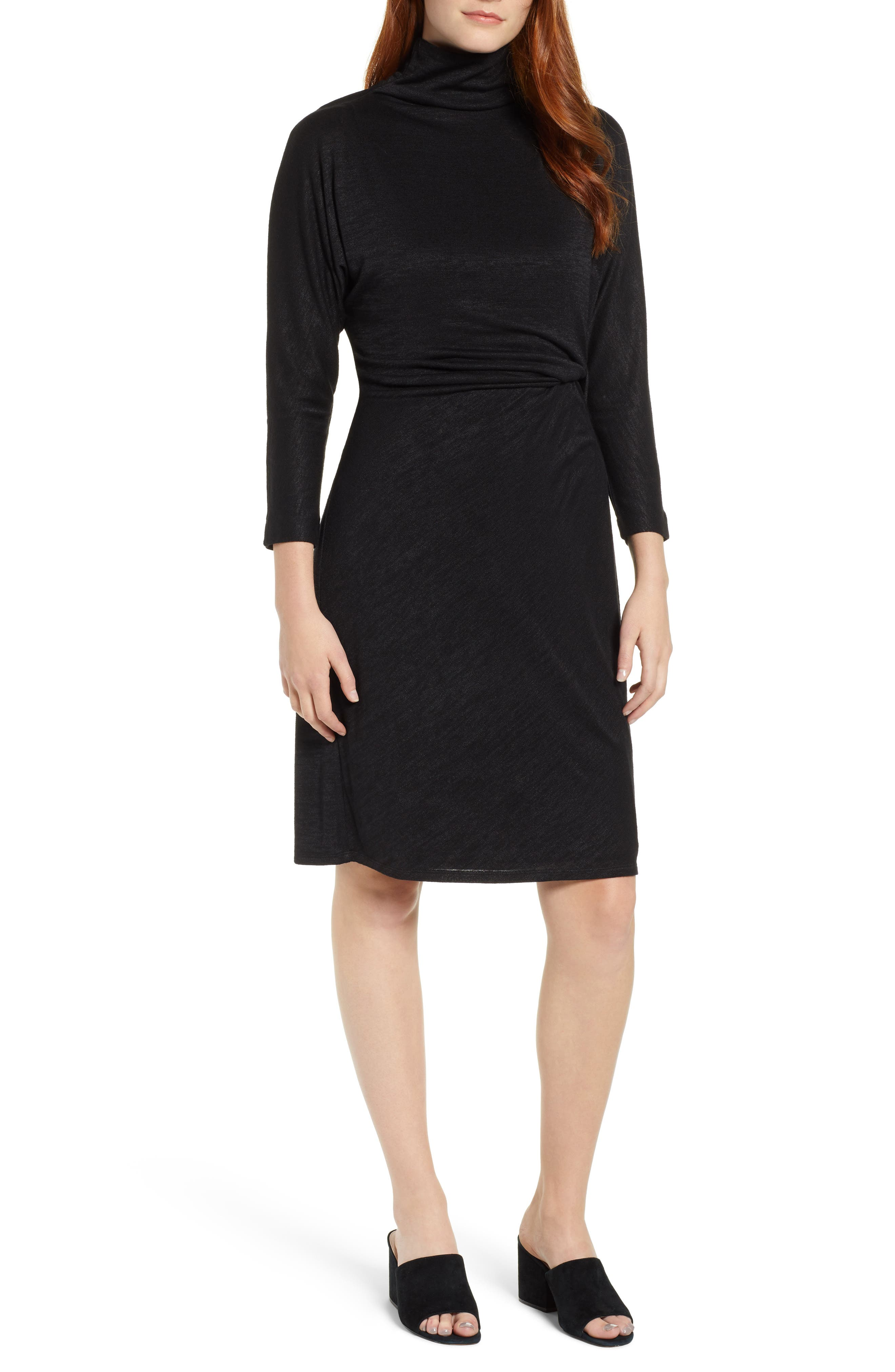 Image of NIC+ZOE Every Occasion Moc Neck Dress