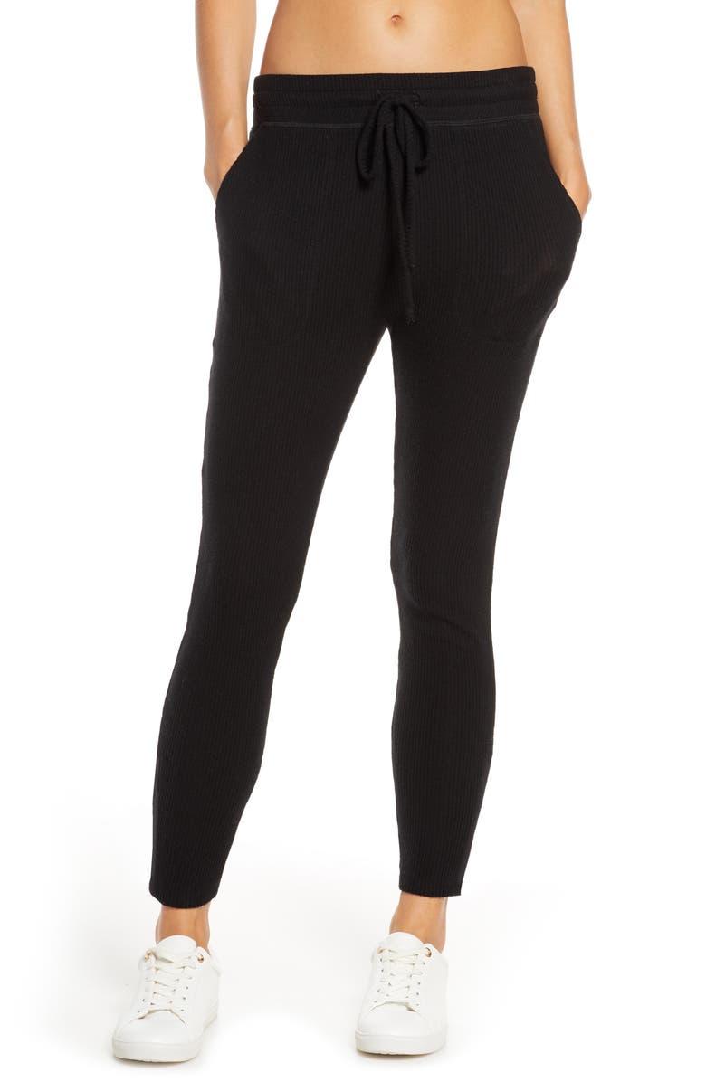 BEYOND YOGA Your Line Sweatpants, Main, color, 001