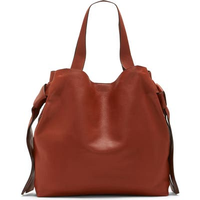 Vince Camuto Cyra Leather Tote - Brown