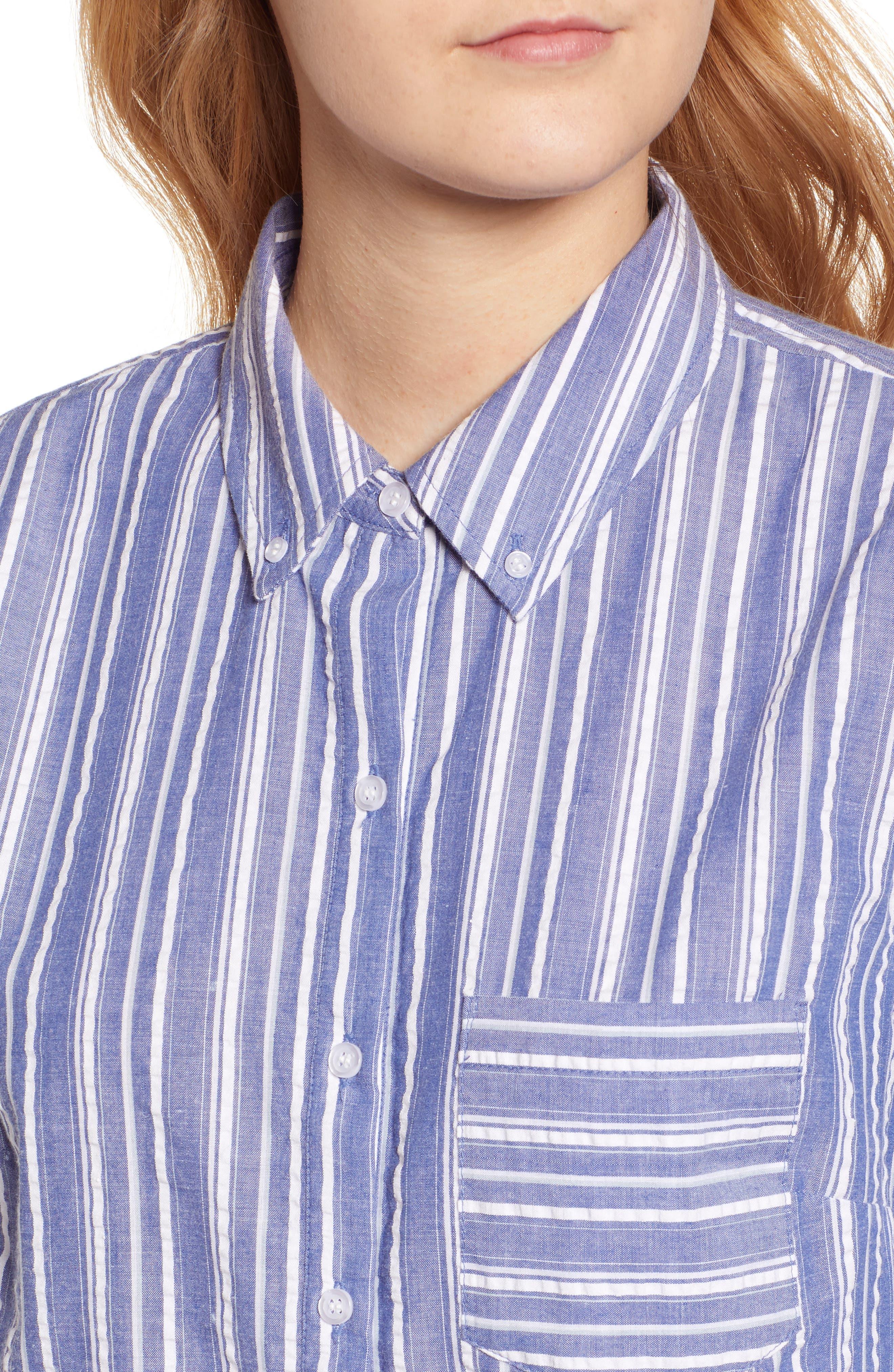 ,                             Seersucker Shirt,                             Alternate thumbnail 6, color,                             030