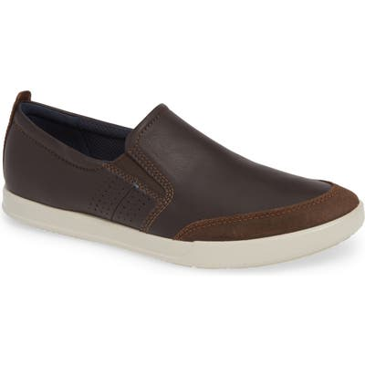 Ecco Collin 2.0 Slip-On Sneaker, Brown