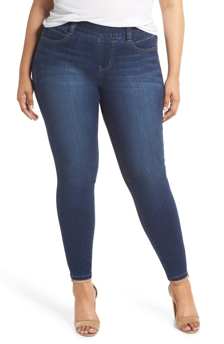JAG JEANS Bryn Pull-On Jeans, Main, color, MED INDIGO