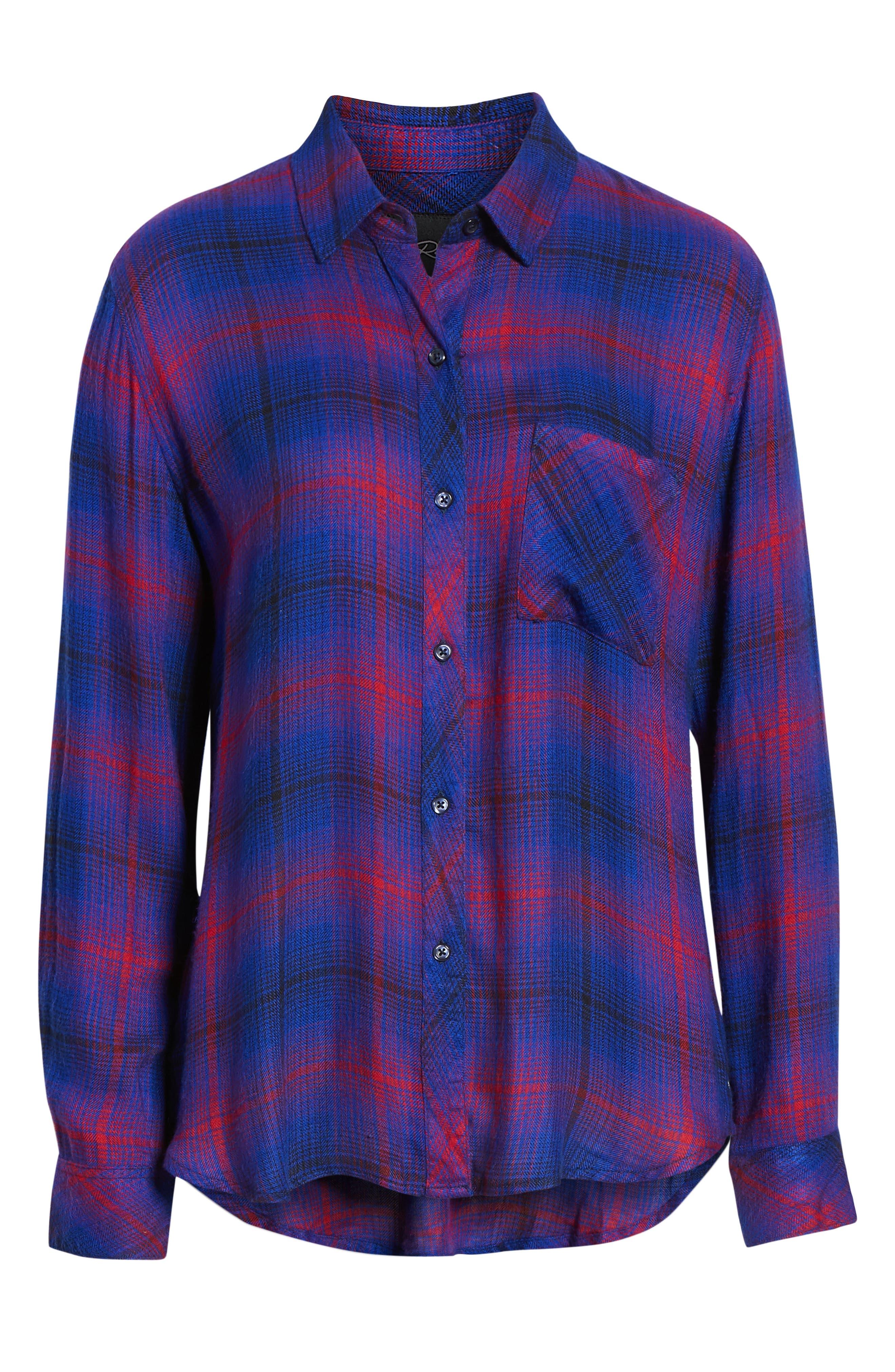,                             Hunter Plaid Shirt,                             Alternate thumbnail 314, color,                             408