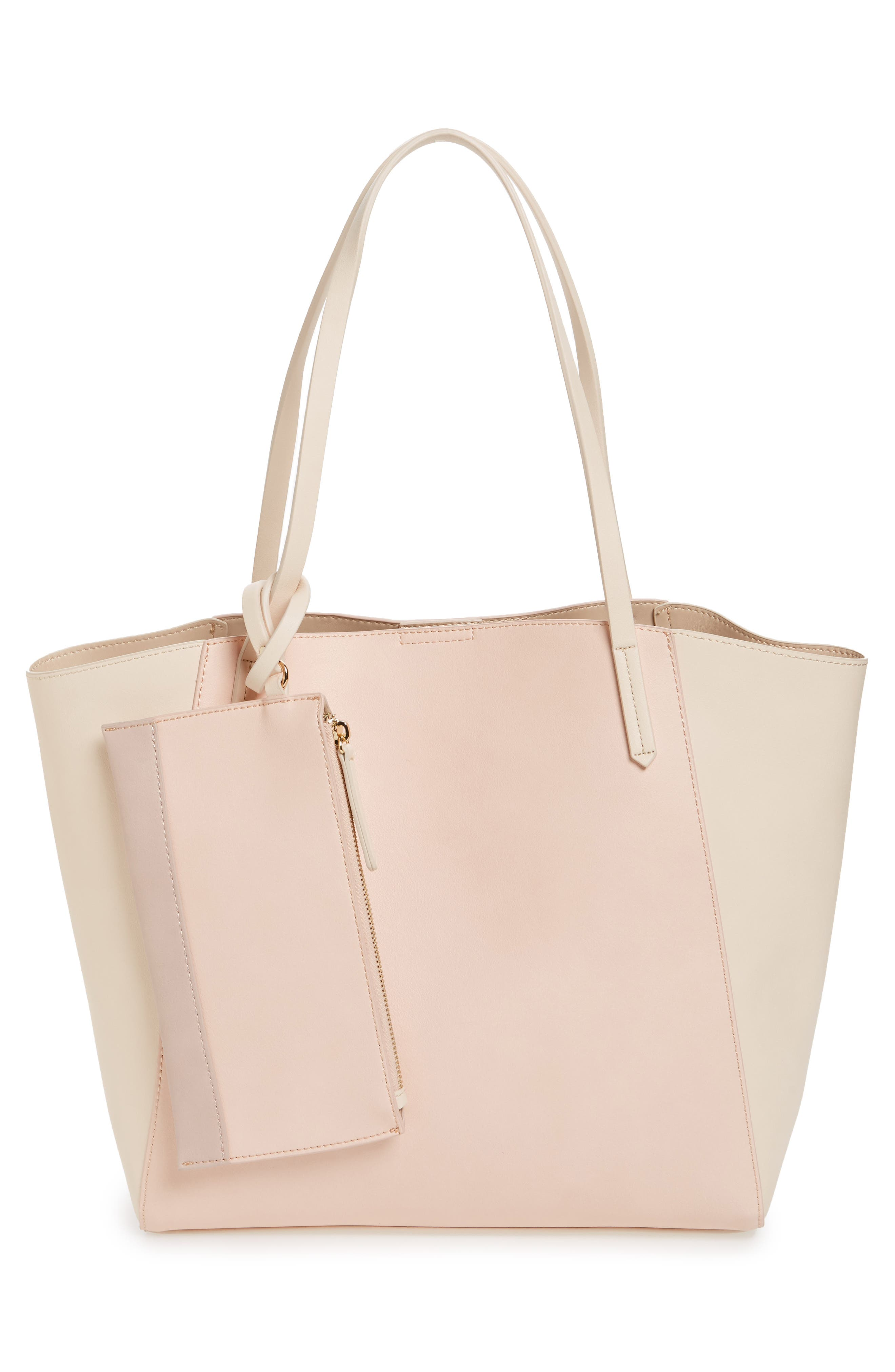,                             Colorblock Faux Leather Tote,                             Alternate thumbnail 32, color,                             680