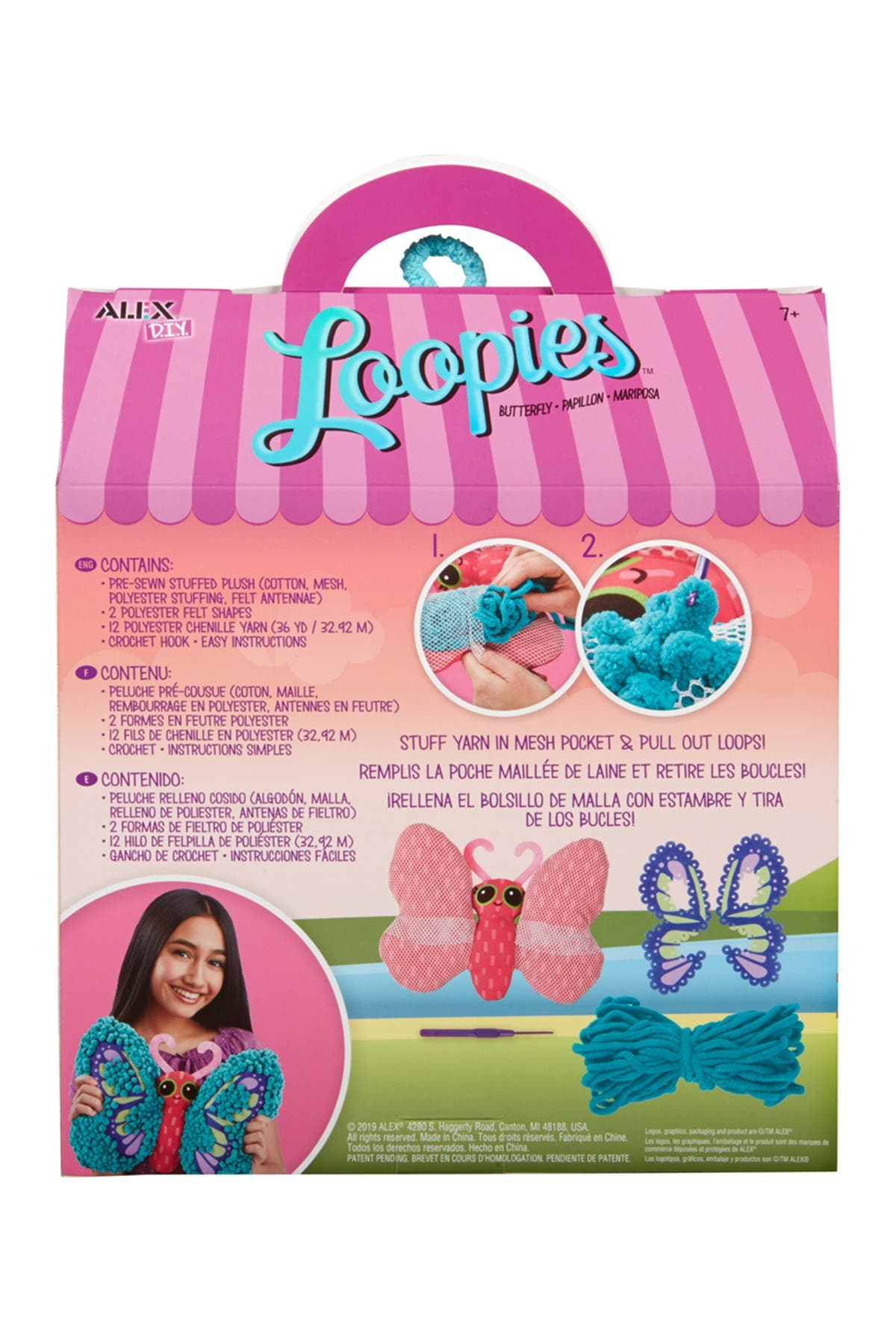Image of Alex Toys Loopies Butterfly Set