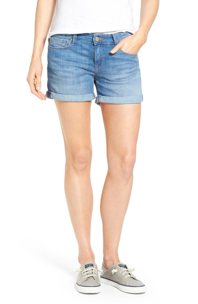 MAVI JEANS 'Vanna' Cuffed Denim Shorts, Main, color, 420