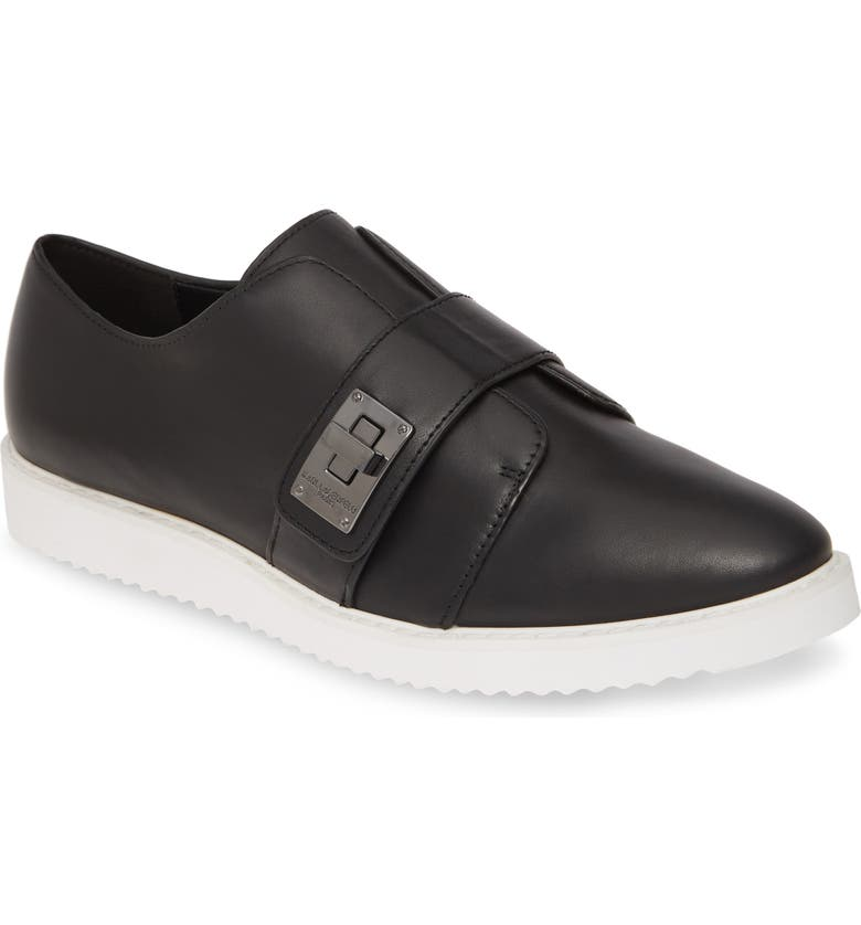 KARL LAGERFELD PARIS Celina Slip-On Sneaker, Main, color, 001