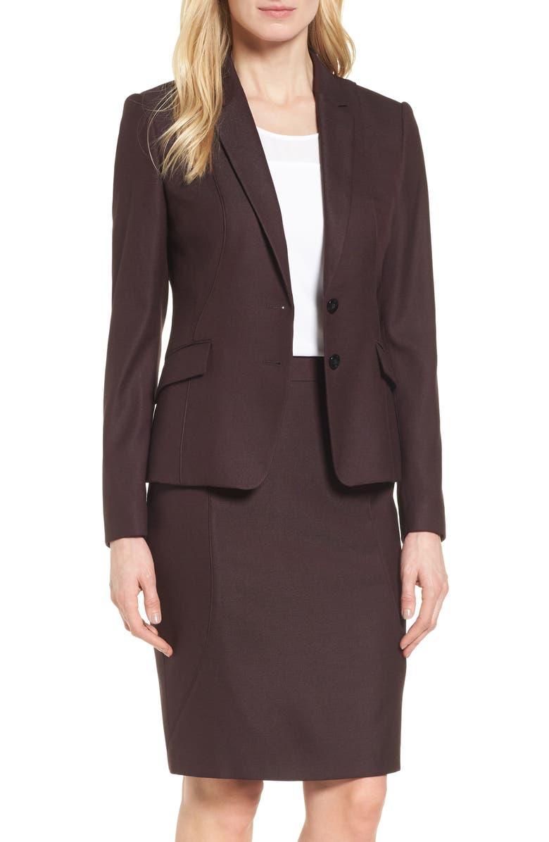 1abb9d0fb Jenesa Suit Jacket, Main, color, 930