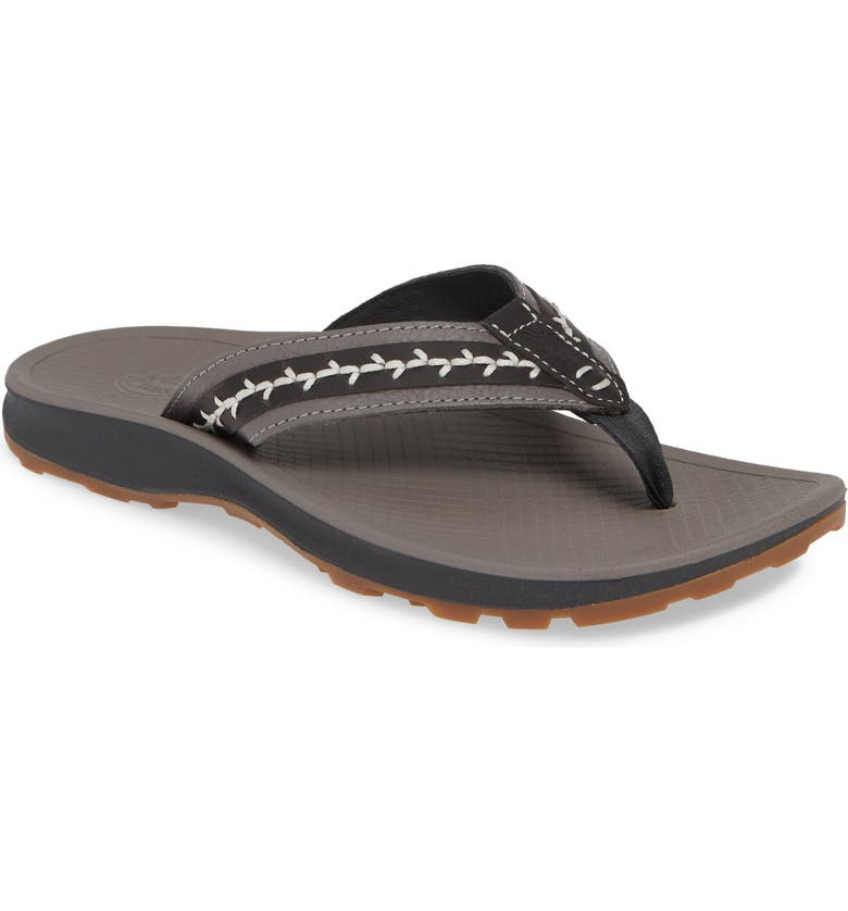 CHACO Playa Pro Leather Flip Flop, Main, color, 020