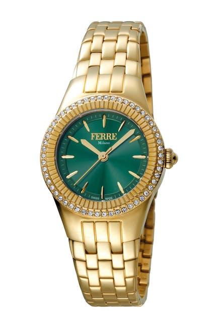 Image of Ferre Milano Women's Linea Trenta Stainless Steel Watch, 30mm