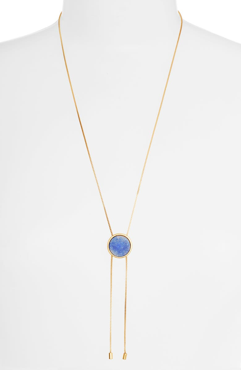 MADEWELL Foretell Bolo Necklace, Main, color, 400