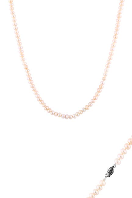 Image of Splendid Pearls Pink Cultured Freshwater 6-7mm Pearl Necklace