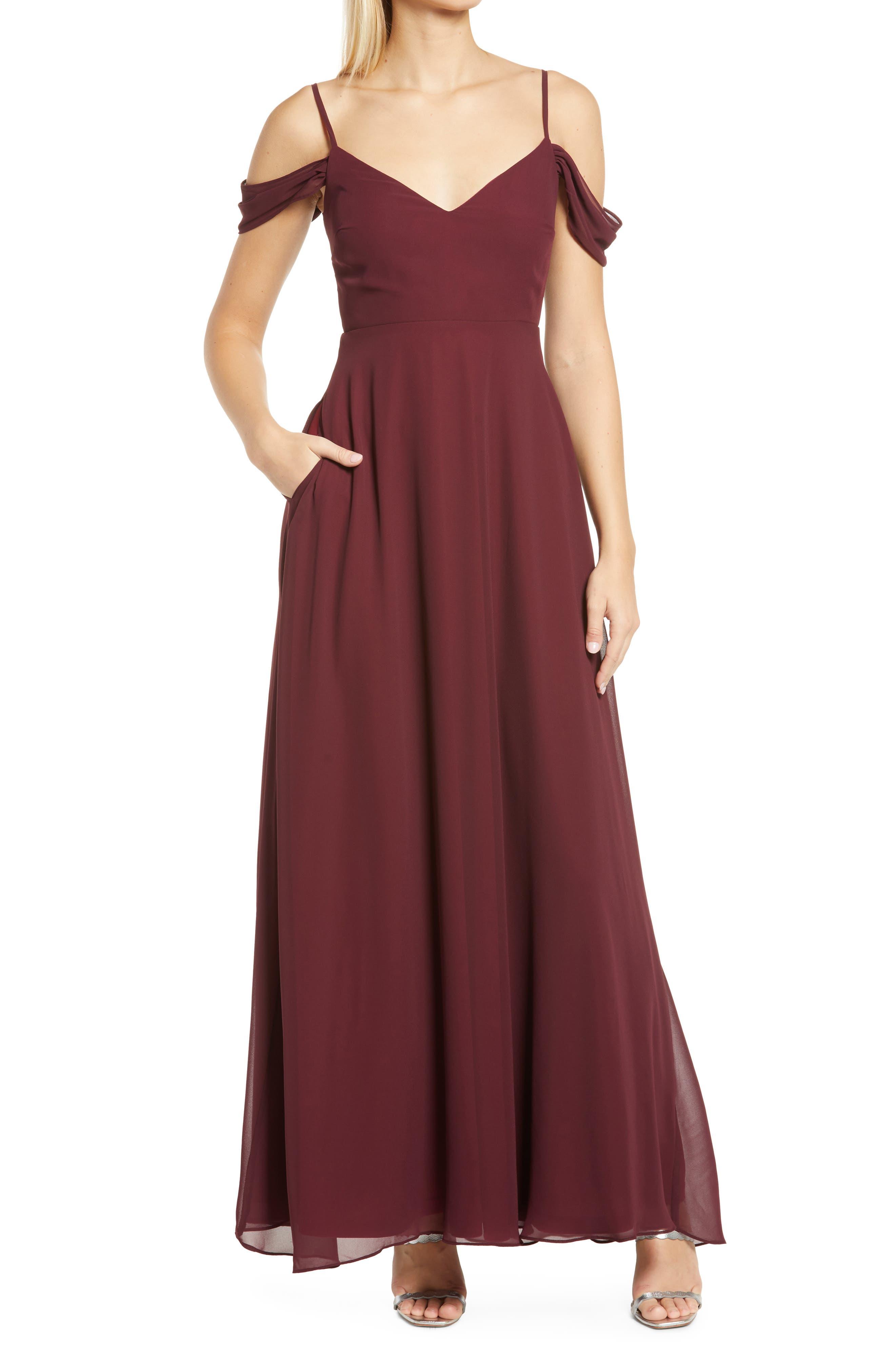 Devin Convertible Chiffon Gown