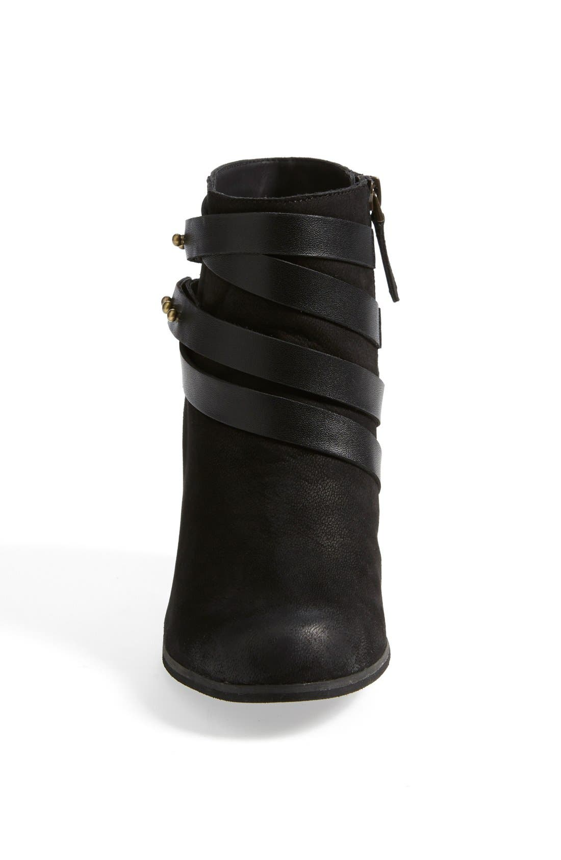 ,                             'Train' Wrap Belted Bootie,                             Alternate thumbnail 6, color,                             004
