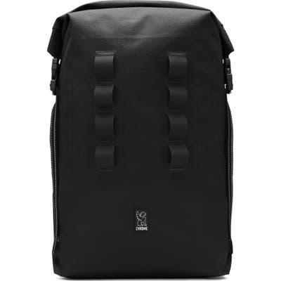 Chrome Urban Ex Rolltop Waterproof Backpack - Black