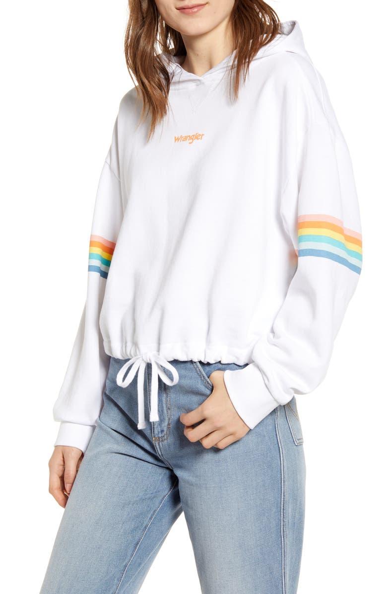 WRANGLER Summer Hoodie, Main, color, WHITE