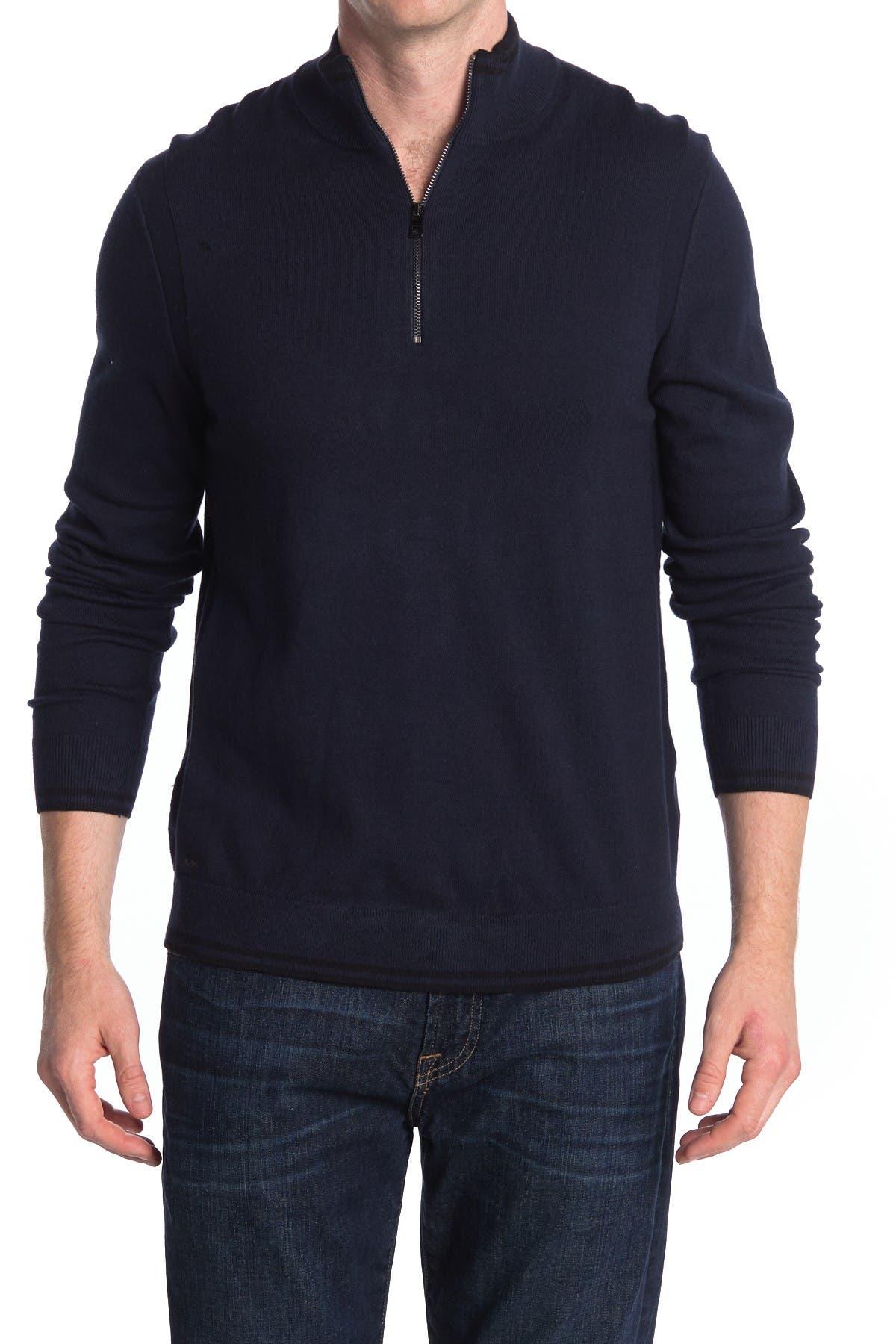 Image of Michael Kors Quarter Zip Sweater