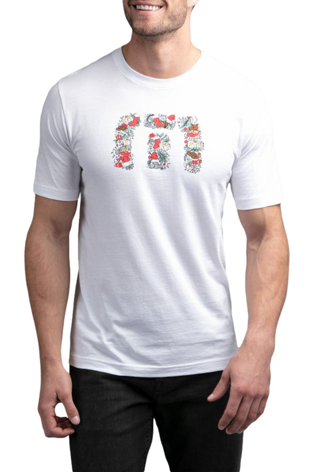 Image of TRAVIS MATHEW Not So Silent Night Graphic T-Shirt