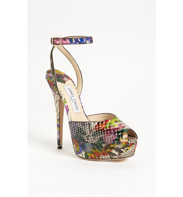 JIMMY CHOO 'Lola' Ankle Strap Sandal, Main, color, 960
